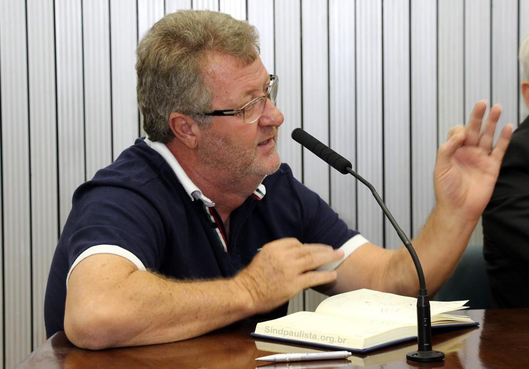 Ariovaldo Bonini - Vice Presidente Sindpaulista